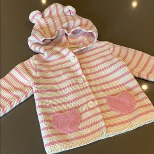 Super cute baby gap hooded sweatshirt